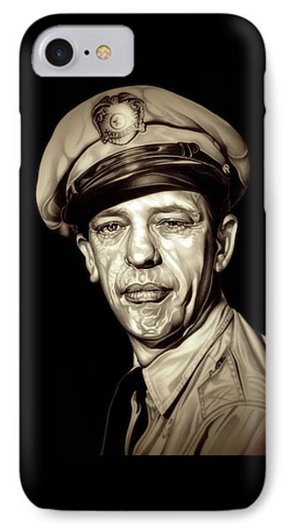 Original Barney Fife IPhone Case