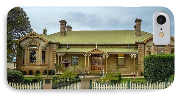 Original Campbell Town Hospital Tasmania IPhone Case by Teresa A and Preston S Cole Photography