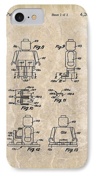 Original Lego Man Patent IPhone Case by Dan Sproul