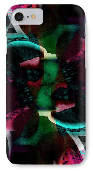 Origins Original  Abstract Art IPhone Case by Ann Powell