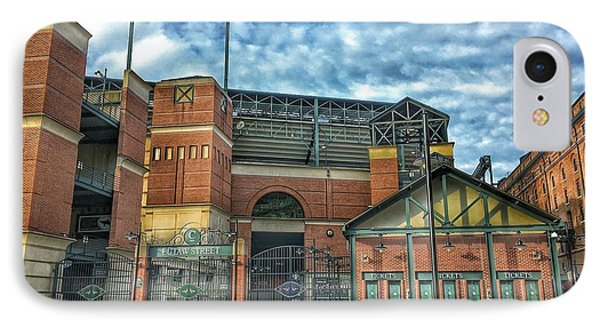 Oriole Park At Camden Yards Gate IPhone Case by Marianna Mills