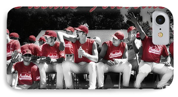 Orleans Firebirds Baseball Team IPhone Case by Dapixara Art