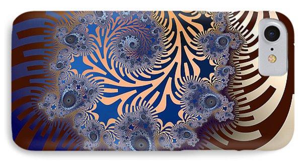 IPhone Case featuring the digital art Ornamental by Karin Kuhlmann