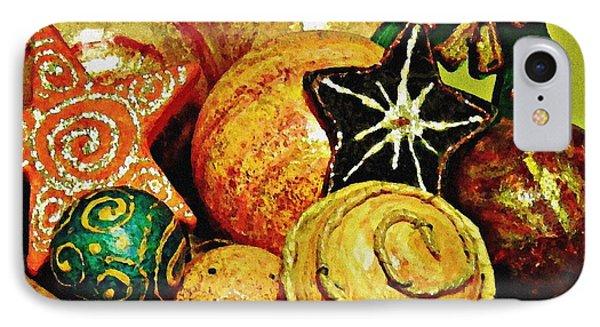 Ornaments Phone Case by Sarah Loft