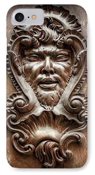 Ornate Door Knocker In Valencia  IPhone Case