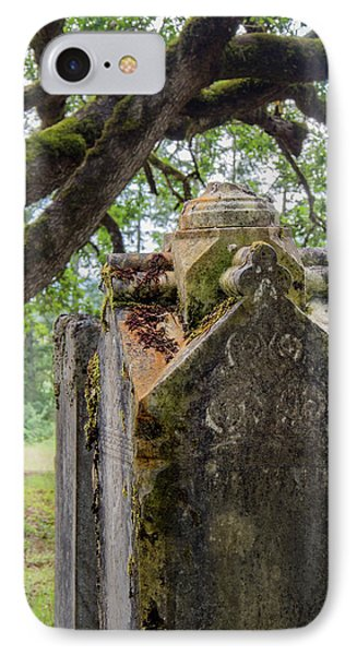Ornate Resting Place IPhone Case by Jean Noren