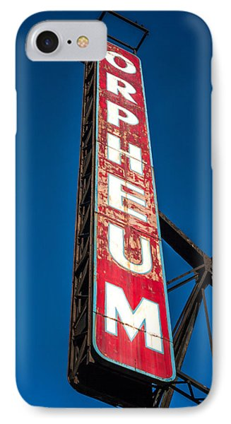 Orpheum Vertical IPhone Case by Todd Klassy