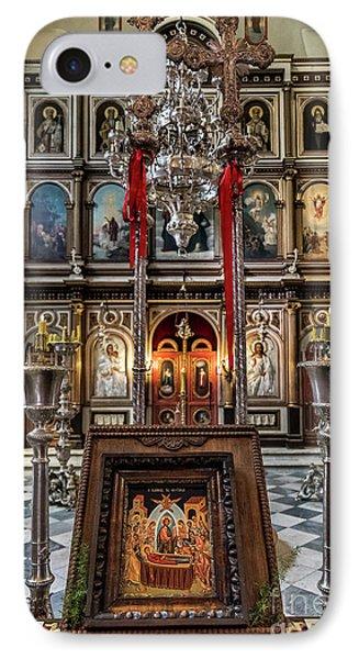 Orthodox Church Of St. Nicholas IPhone Case by John Greim
