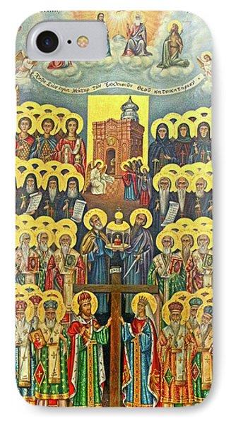 Orthodox Holy Saints 1882 IPhone Case by Munir Alawi