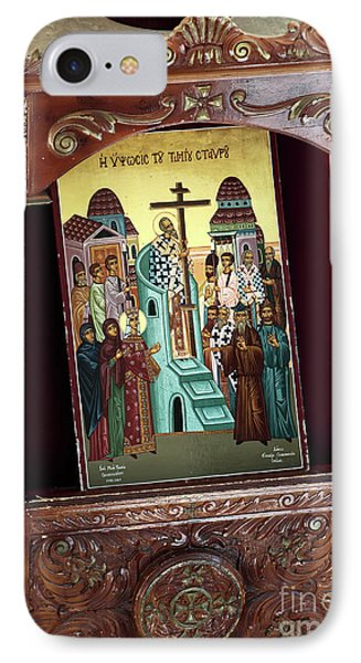 Orthodox Icon Phone Case by John Rizzuto