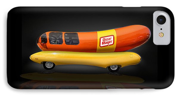 Oscar Mayer Wiener Mobile IPhone Case by Gary Warnimont