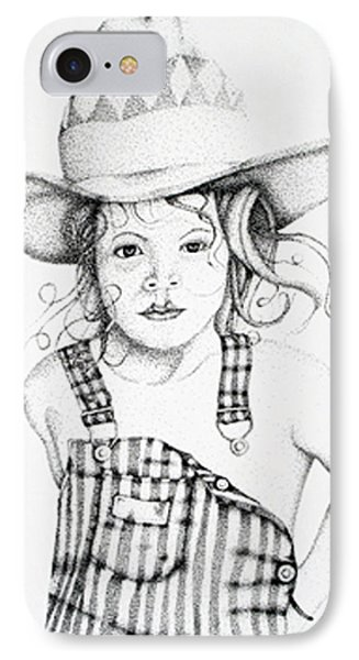 IPhone Case featuring the drawing Osh Kosh by Mayhem Mediums