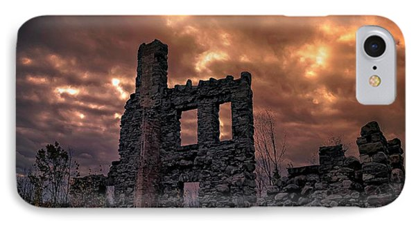 IPhone Case featuring the photograph Osler Castle by Michaela Preston