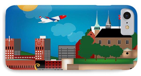 Oslo Norway Horizontal Scene IPhone Case