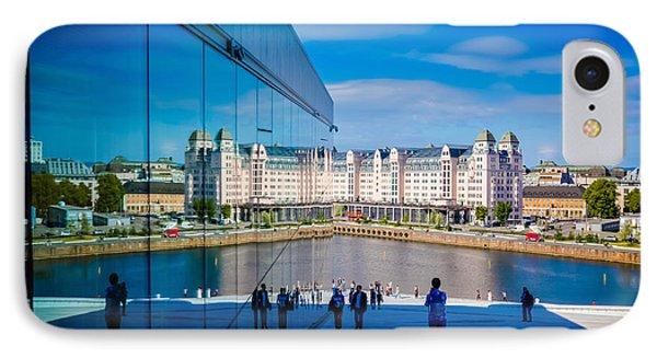 Oslo Reflection IPhone Case by Kristina Jakubikova