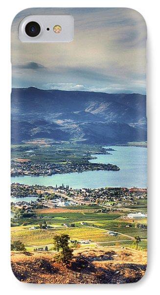 Osoyoos Lake 2 IPhone Case by Tara Turner