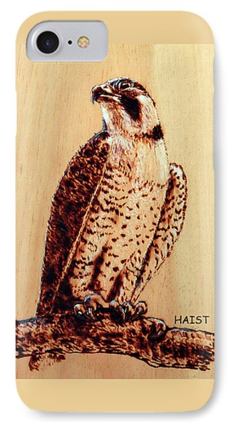 Osprey 2 Pillow/bag IPhone Case by Ron Haist