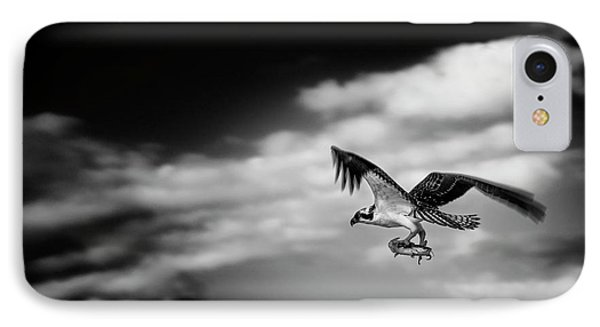 IPhone Case featuring the photograph Osprey Catch Of The Day by Chrystal Mimbs
