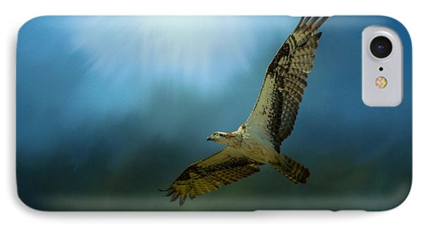 Osprey In The Evening Light IPhone Case