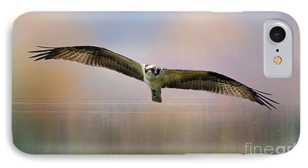 Osprey Over The Shenandoah IPhone Case by Kathy Russell