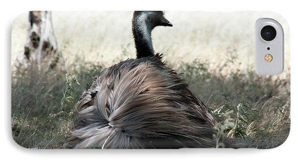 Ostracized Ostrich Phone Case by Douglas Barnard
