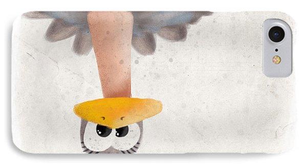 Ostrich IPhone Case by David Breeding