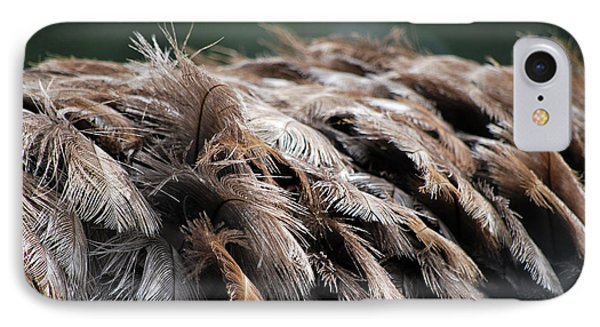 Ostrich Feathers Phone Case by Teresa Blanton