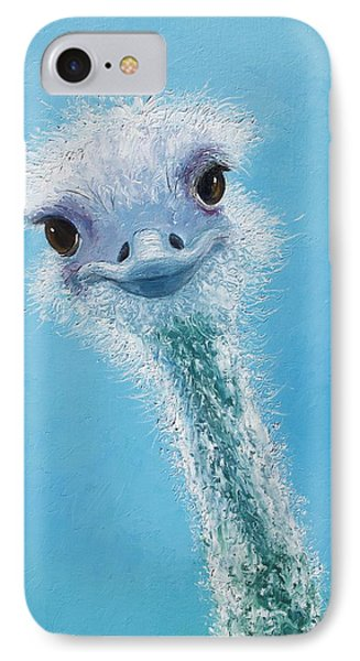 Ostrich Painting IPhone 7 Case