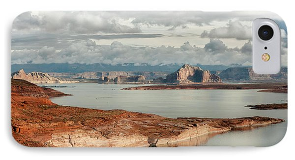 Otherworldly Morning At Lake Powell Phone Case by Sandra Bronstein