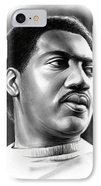 Rhythm And Blues iPhone 7 Case - Otis Redding by Greg Joens