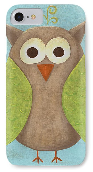 Otis The Owl Nursery Art IPhone Case