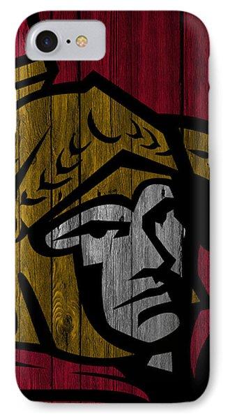 Ottawa Senators Wood Fence IPhone Case by Joe Hamilton