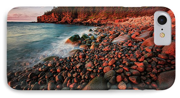 IPhone Case featuring the photograph Otter Beach Main After The First Light  by Emmanuel Panagiotakis