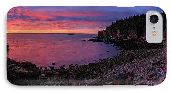 IPhone Case featuring the photograph Otter Beach Maine Sunrise  by Emmanuel Panagiotakis