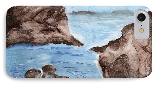Otter Cove Phone Case by Beverly Johnson