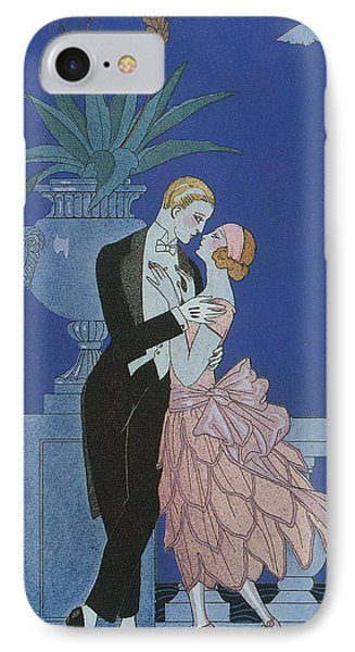 Oui IPhone Case by Georges Barbier