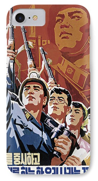 Our Country Is Safe Under The Army's Fist Policies IPhone Case by Daniel Hagerman