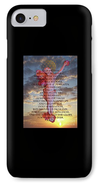 Inri M15, Our Father IPhone Case