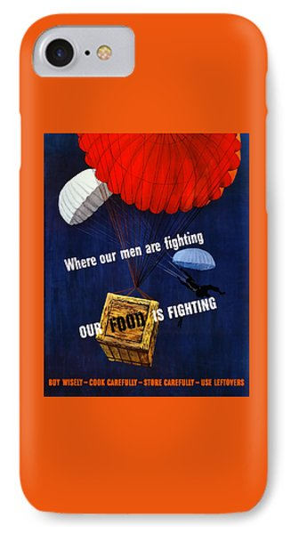 Our Food Is Fighting - Ww2 IPhone Case