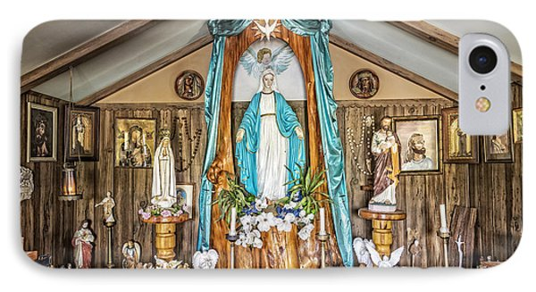 Our Lady Of Blind River IPhone Case by Andy Crawford