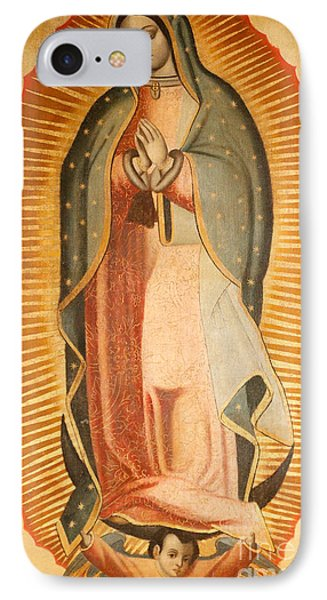 Our Lady Of Guadalupe IPhone Case by American School