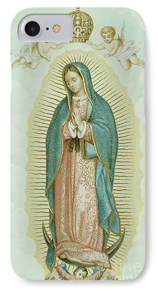 Our Lady Of Guadalupe IPhone Case by French School