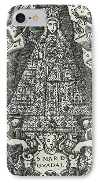 Our Lady Of Guadalupe IPhone Case by Spanish School