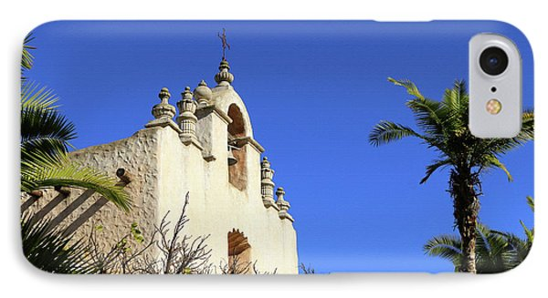 IPhone Case featuring the photograph Our Lady Of Mount Carmel - Montecito by Art Block Collections