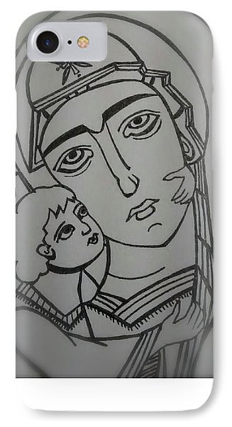 Our Lady Of Perpetual Help IPhone Case by Danielle Tayabas