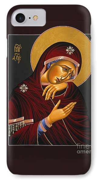 IPhone Case featuring the painting Our Lady Of Sorrows 028 by William Hart McNichols