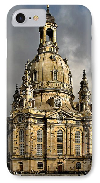 Our Lady's Church Of Dresden Phone Case by Christine Till