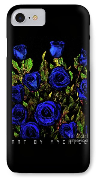 Our Officers In Blue IPhone Case by Art by MyChicC