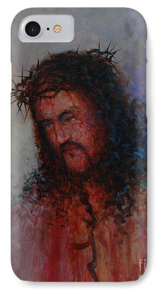 Our Precious Savior Phone Case by Michael Nowak