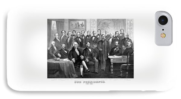Our Presidents 1789-1881 IPhone Case by War Is Hell Store